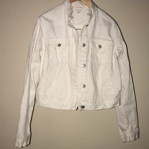 ‼️A New Day White Denim Jacket